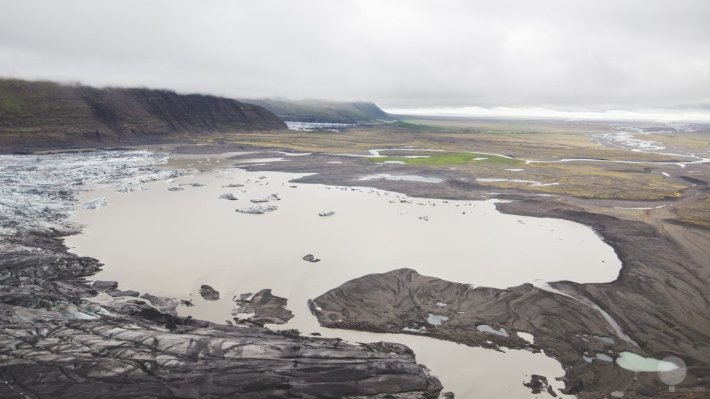 Vista sul Vatnajokull