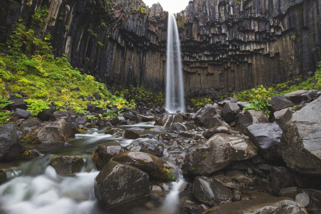 Svartifoss, la cascata nera