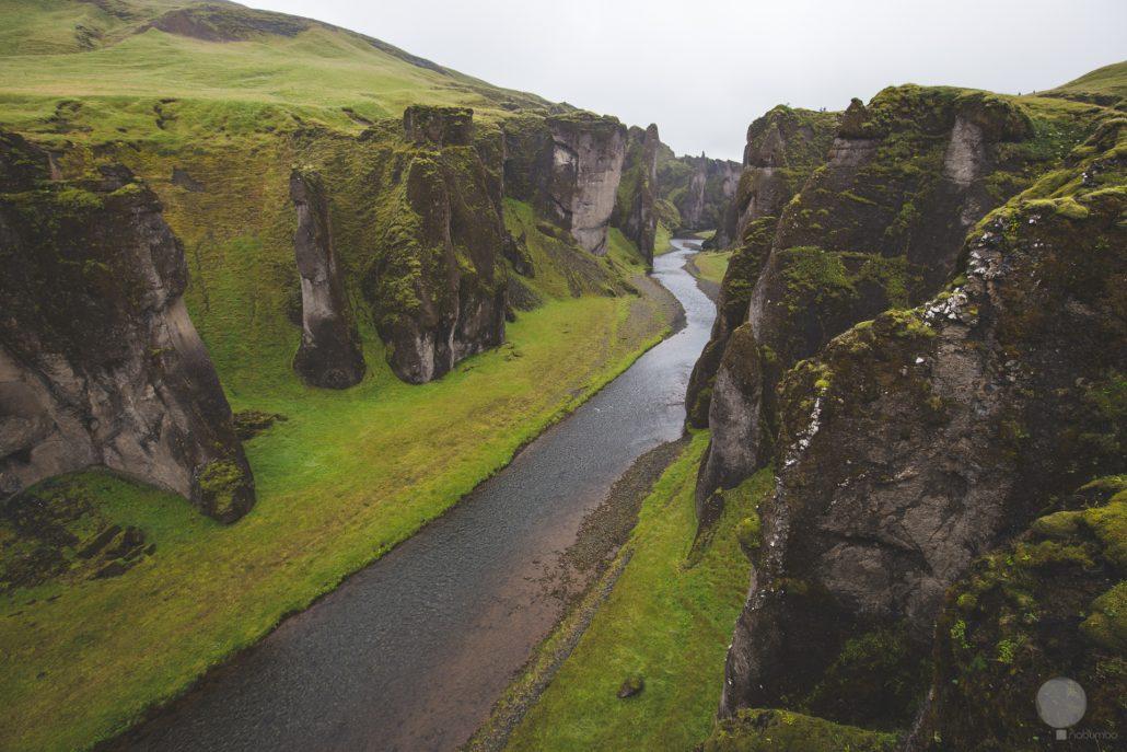 Un canyon primordiale