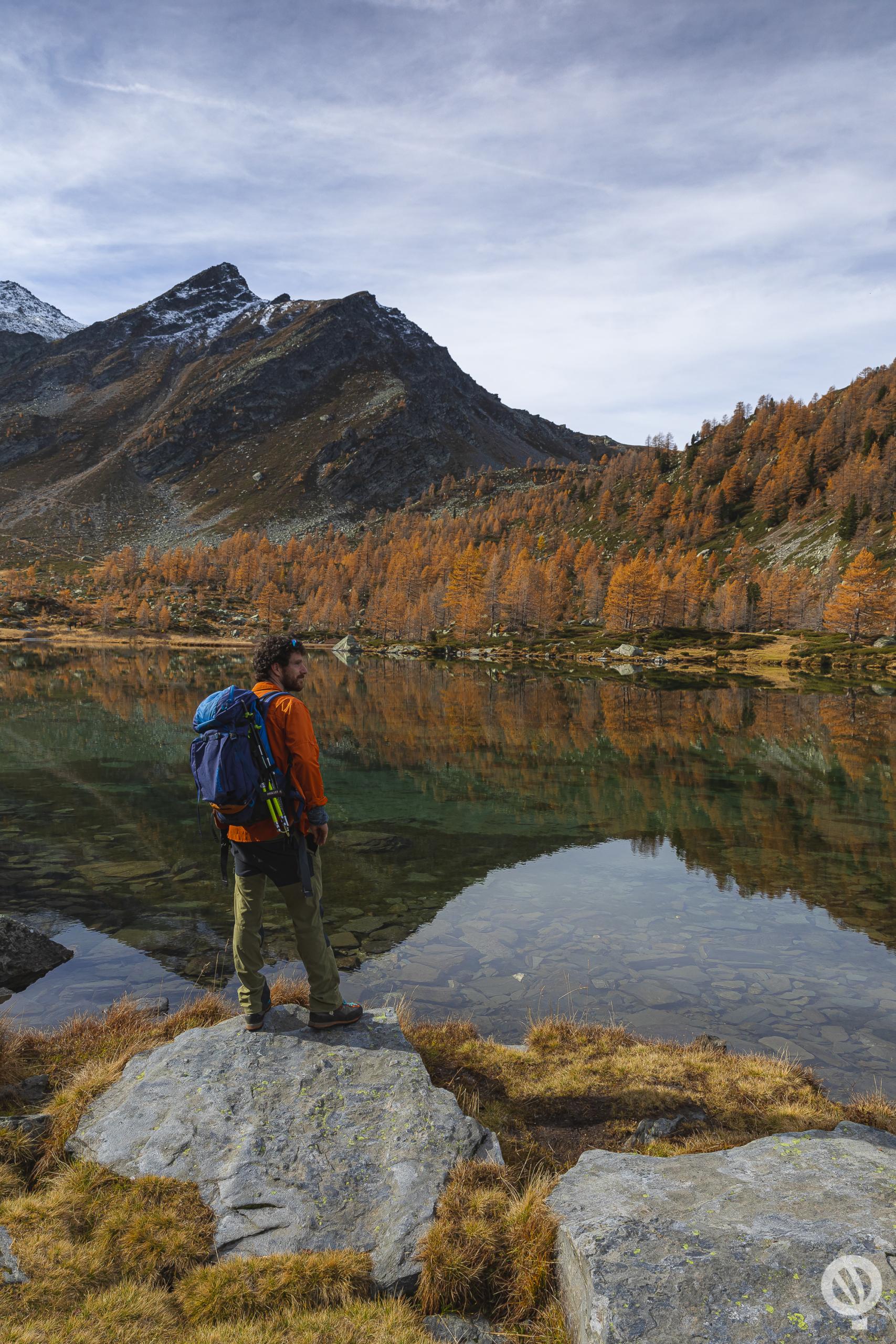 Lago d'Arpy in Valle d'Aosta